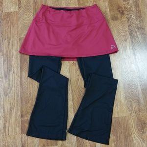 Skirt Sports Tough Girl Skirt Leggings Ruby M